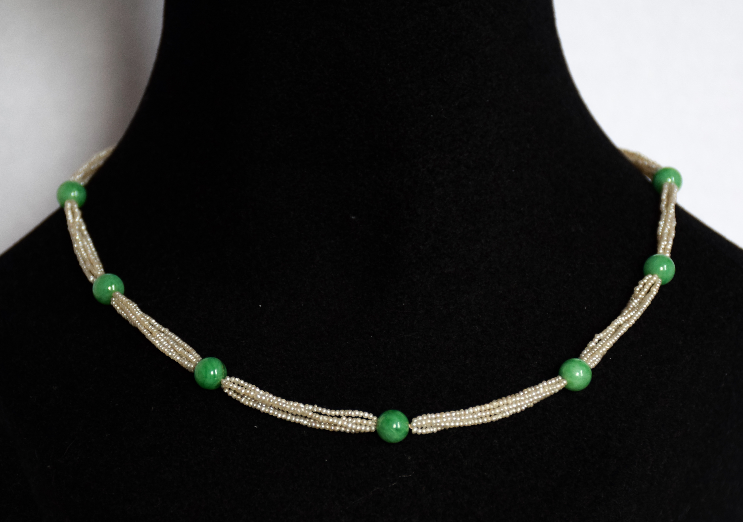 necklace aventurine natural view jade quick chinese p green nk clearance